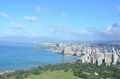 Výhľad na Honolulu z Diamond Head