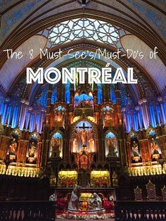 Live minimally while still enjoying your life with these affordable must-see and must-do's in Montreal. Quebec Montreal, Old Montreal, Montreal Ville, Quebec City, Montreal Vacation, Montreal Travel, O Canada, Canada Travel, Alberta Canada
