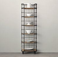 "24"" Circa 1900 Baker's Rack | Wood Shelving & Cabinets | Restoration Hardware"