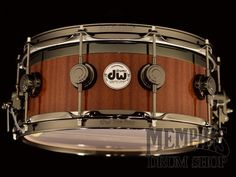 DW 14 x 6 Collector's Series Top Edge Maple/Mahogany Snare Drum