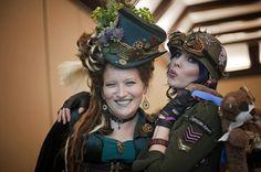 How Irish Dance Met Steampunk in Utah - Rinceoiri Don Spraoi Irish Dancers Irish Step Dancing, Irish Dance, Tank Girl, Leprechaun, Dieselpunk, Steampunk Fashion, Captain Hat, Dancer, Cosplay