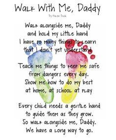 Walk A Little Slower Daddy