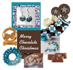 """""""Merry Chocolate Christmas"""" by thesandlappershop ❤ liked on Polyvore featuring interior, interiors, interior design, home, home decor, interior decorating and Home Decorators Collection"""