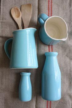 Turquoise jars