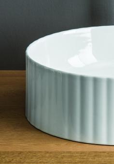 MILLERIGHE design Meneghello Paolelli Associati. The.Artceram countertop washbasin / Lavabo di appoggio