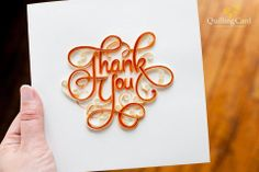 Thank you card.                                                       …