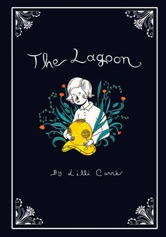 Illustration by Lilli Carre (via Mint) #LilliCarre #black #lagoon