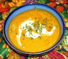 Butternut Squash Soup For The Crockpot Recipe - My Kitchen Magazine