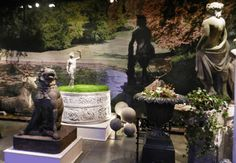 Barbara Israel Garden Antiques, Katonah, N.Y. at the 2013 Winter Antiques Show