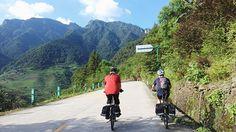 Biking from Ziyuan to Longsheng