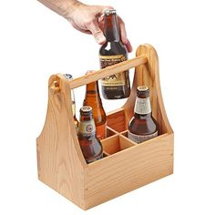 Make this beer caddy as a easy diy gift for the craft beer/soda lovers in your life. Weekend Projects - See more at: https://www.woodstore.net/plans/gifts/kitchen-accessories/4134-Beer-Caddy.html#sthash.04dStWwp.dpuf