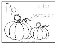 letter a images p is for pumpkin coloring page bordados 34717