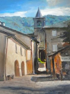Corchia, Italy - Painting classes in the food valley of Parma and Piacenza