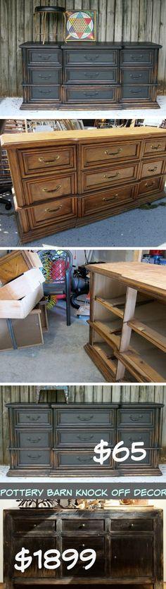 Dawson Chest of Drawers   DIY Pottery Barn Decor Knock Offs   DIY Pottery Barn…