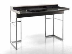 Magic Desk : YOMEI's Modern Leather Writing Desk 2