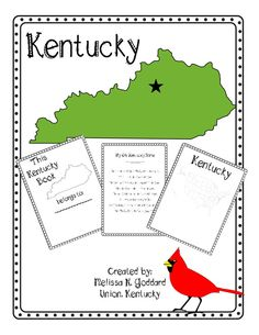 Kentucky Mini Unit Great for 2nd-5th or 6th graders!  Maps, quiz, and fun activities included.   http://www.teacherspayteachers.com/Product/Kentucky-Supplemental-Packet-888225