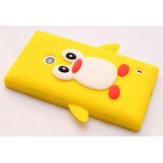 Lumia 520 keltainen pingviini silikonisuojus. Nokia Lumia 520, Pikachu, Fictional Characters, Fantasy Characters