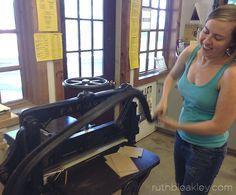 Onionskin Bookbinding class at Penland School of Crafts – Ruth Bleakley's Studio Bookbinding Tools, Bookbinding Tutorial, Types Of Bones, Reading Post, Post Secret, Bone Folder, Nautical Chart, Stitch Book, Nostalgia