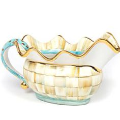 Have to have! Mackenzie-Childs new gravy boat.