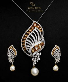 Shop Exclusive Designer Diamond Jewellery at Saraf Jewels. We also deal in customized jewellery. For queries; Call: 0141-4026333 or Whatsapp: +91 9829055333 #diamond #diamondjewellery #diamondpendant #diamondpendantset #pendantset #pendant #jewellery #gold #finejewellery #jaipur #india