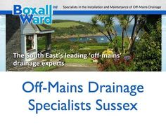 What To Know About Off-Mains Drainage Sussex
