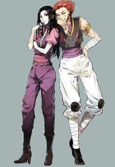 Hisoka & Illumi, Hunter x Hunter