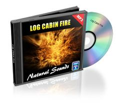 Free Download of Nature Sounds - Log Cabin Fire