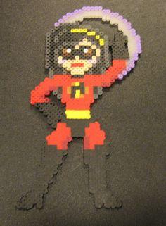 Violet The Incredibles perler beads by Flood7585 on DeviantArt