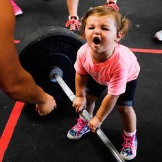 Stella Ferrari. Photo: Karissa Ferrari. #CrossFit #CrossFitKids