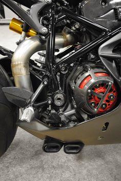 Custom Ducati 999 by Arete Americana
