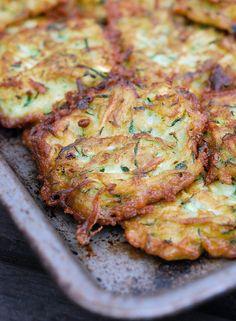 Marcus Samuelsson's Zucchini Fritters
