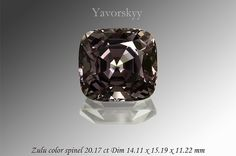 Mixed Grey Spinel (20.17 Ct) - Yavorskyy, bien sûr!