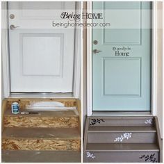 A Entry Makeover!  The Moon and Me: 18 Easy Updates That WOW! {A Curated Board for Hometalk}