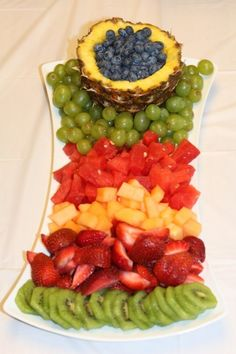 A lovely fruit platter display!