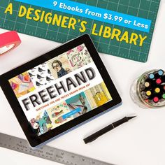 """The ebook of my book Freehand has been chosen for the Chronicle """"Eye Candy"""" ebook promotion, lasting the entire month of August."""""""