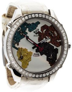 Jacob & Co. Five Time Zone Diamond Watch