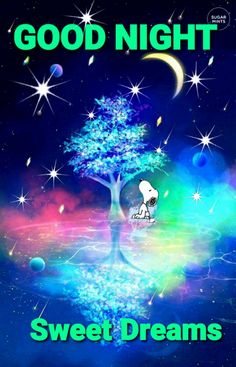 Cute Good Night, Good Night Sweet Dreams, Good Night Moon, Good Morning Good Night, Good Night Greetings, Good Night Wishes, Good Morning Messages, Good Morning Images, Goodnight Snoopy
