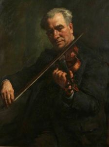 The Athenaeum - The Violinist (Stanhope Alexander Forbes - Date unknown)