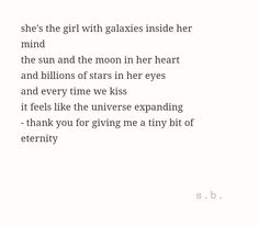 the girl with galaxies inside her mind