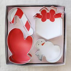 winter cookie cutters gift set