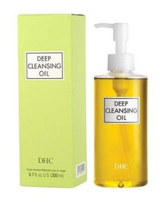 This is an award winning Cleansing Oil from DHC, which is also their best selling skin care product. It has virgin olive oil from Spain, rosemary, vitamin E and more for caring skin. With light massage, it can cleanse makeups and pores. Best Cleansing Oil, Facial Cleansing, Dhc Skincare, Skincare Routine, Best Makeup Remover, Makeup Removers, Cleanser For Oily Skin, Moisturizer, Face Cleanser