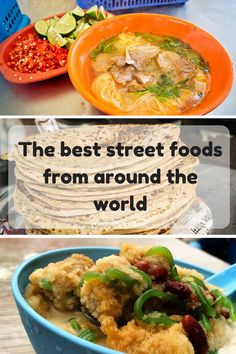 Travel bloggers share their favourite street foods from around the globe!   www.yokomeshi.co.uk