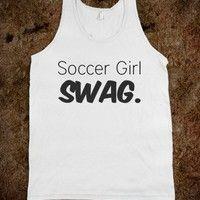 Soccer girl swag