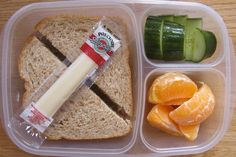 Peanut butter sandwich.  A strawberry yogurt cup in the lunch bag and my little one is all set.