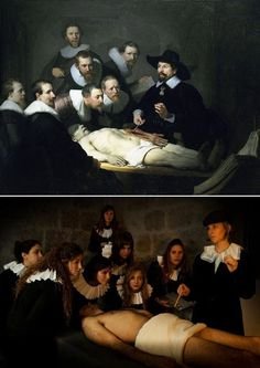"""""""The Anatomy Lesson of Dr. Nicolaes Tulp"""" by Rembrandt"""