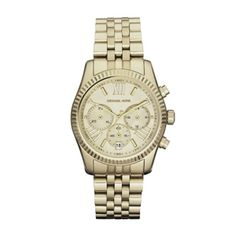 44c1f48fa5fca Shop Mid-Size Rose Golden Stainless Steel Lexington Chronograph Watch from MICHAEL  Michael Kors at Neiman Marcus Last Call, where you ll save as much as on ...