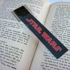 Star Wars Bookmark  Recycled Film by StalkingMarla on Etsy