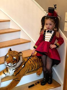 Ringmaster Costume, Circus Costume, Circus Family Costume, Little Girl Halloween Costumes, Halloween Kids, Kids Costumes Girls, Toddler Girl Costumes, Best Kids Costumes, Cute Costumes For Tweens