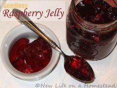 Seedless Raspberry Jelly Recipe