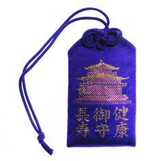 Japanese health omamori charm from Kinkaku-ji temple of Kyoto in Japan